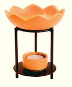 Duftlampe Lotos orange