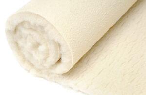 Premium Schurwollmatten mit Rückseite aus superrutschfestem PU-Schaum