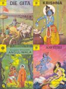 Set mit 4 spirituellen Bildbänden
